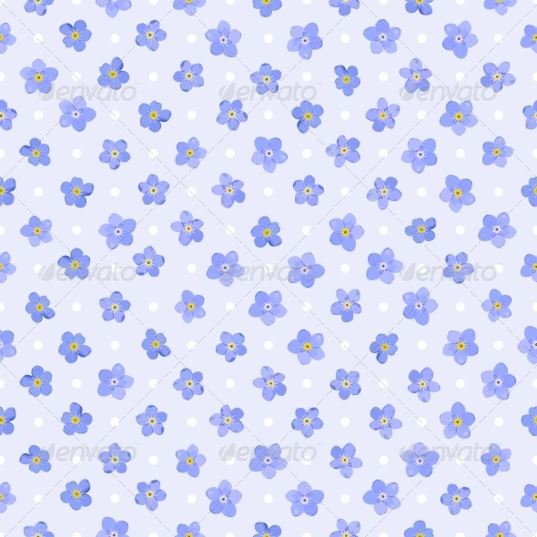 GraphicRiver Seamless Floral Pattern 4984957