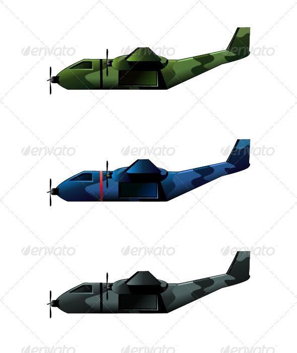GraphicRiver Airplane 4985911