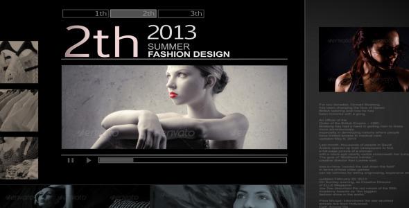 Fashion design opener