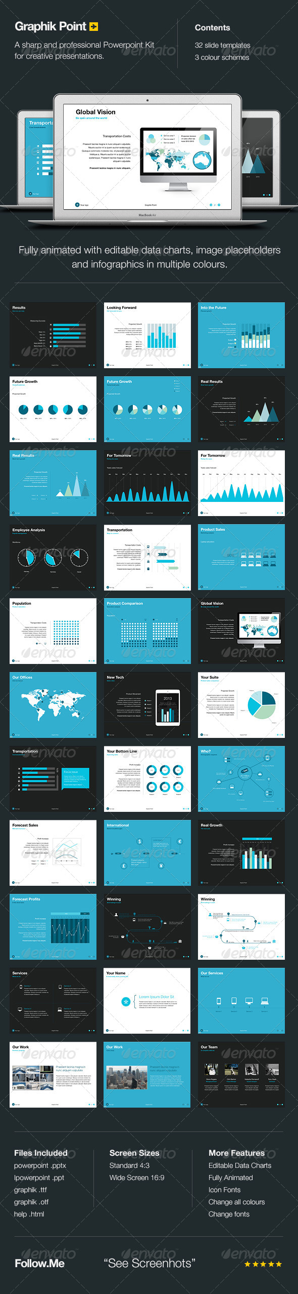 Graphik Point - Powerpoint Presentation - Powerpoint Templates Presentation Templates