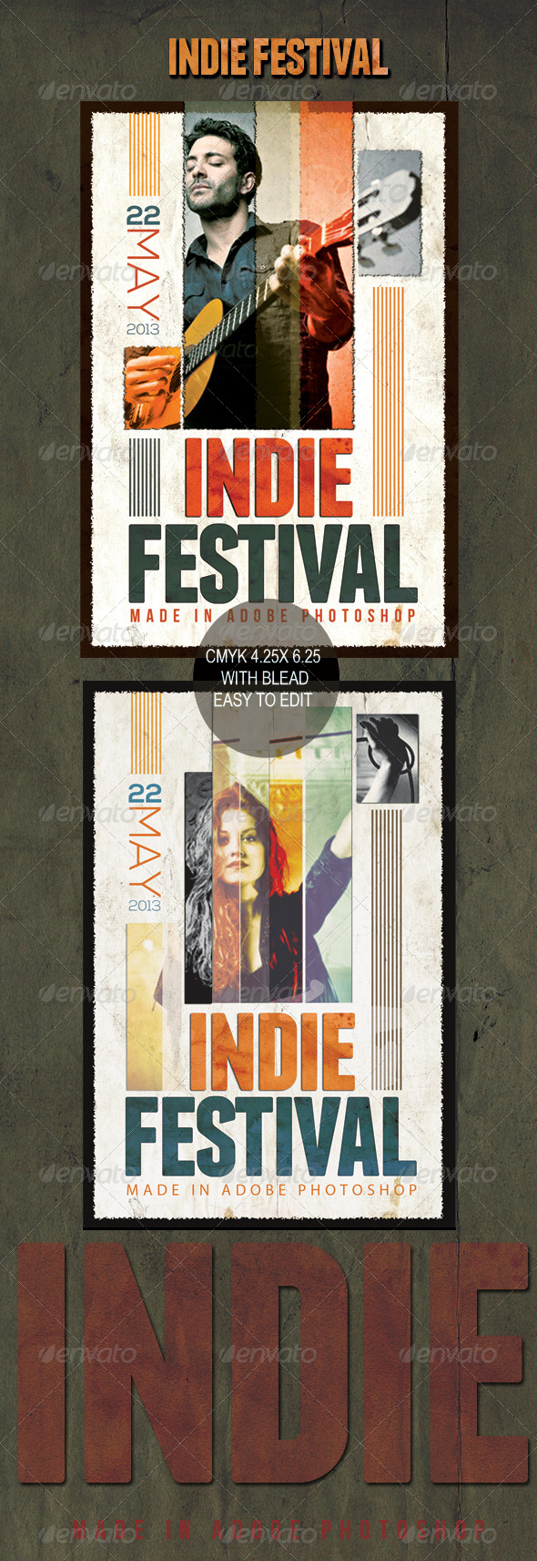 GraphicRiver Indie Festival 4929456