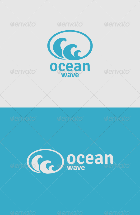 GraphicRiver Ocean Wave Logo 4986903