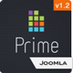 Prime -  Elegant Joomla 1.5 & Joomla 1.6 Template - ThemeForest Item for Sale