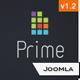 Prime –  Elegant Joomla 1.5 & Joomla 1.6 Template  Free Download