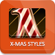 Christmas Photoshop Styles - GraphicRiver Item for Sale