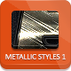 Unique Metallic Styles - GraphicRiver Item for Sale