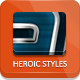 Heroic Photoshop Styles - GraphicRiver Item for Sale