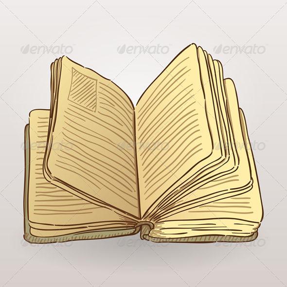 GraphicRiver Book Illustration 4987392