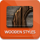 Wood Photoshop Styles - GraphicRiver Item for Sale