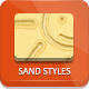 Sand Photoshop Styles - GraphicRiver Item for Sale