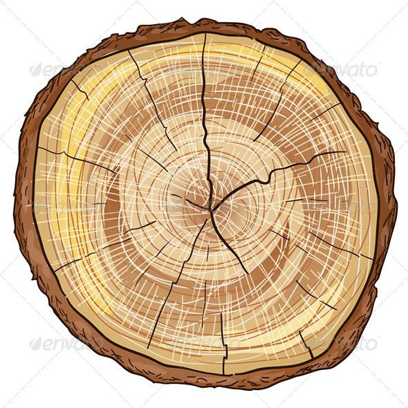 GraphicRiver Wood Log 4987403