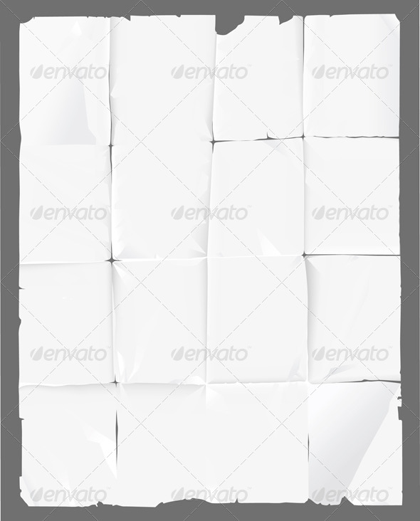 GraphicRiver Crumpled Paper 4987500