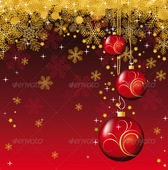 GraphicRiver Christmas Background 4987539