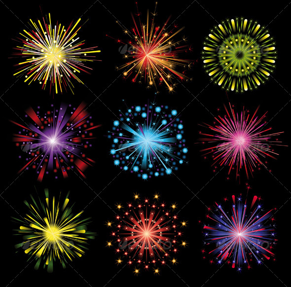 GraphicRiver Fireworks 4987549