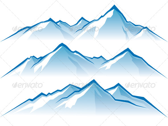 GraphicRiver Mountains 4987591