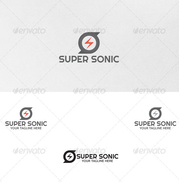 GraphicRiver Super Sonic Logo Template 4987601