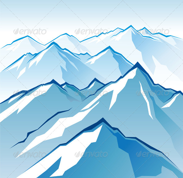 GraphicRiver Icy Mountains 4987623