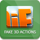 Fake 3D Photoshop Action - GraphicRiver Item for Sale