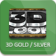 3D Gold And Silver Generator - GraphicRiver Item for Sale