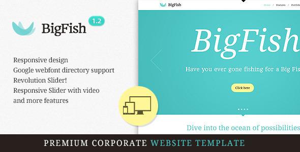 BigFish - Premium Responsive HTML5 Template