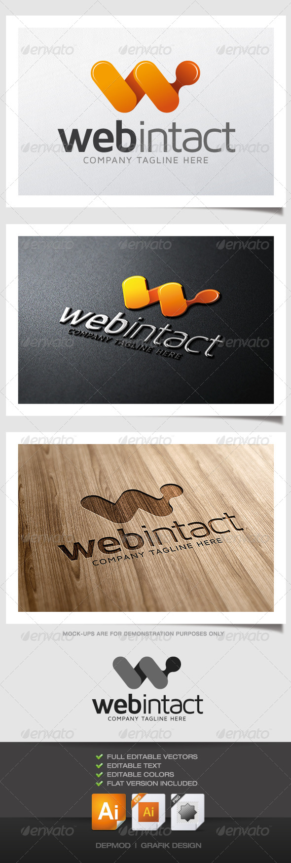 GraphicRiver Web Intact Logo 4989775