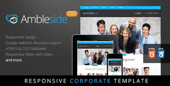 Ambleside - Premium Responsive HTML5 Template