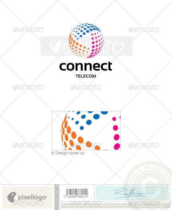 GraphicRiver Telecom Logo 2315 514736
