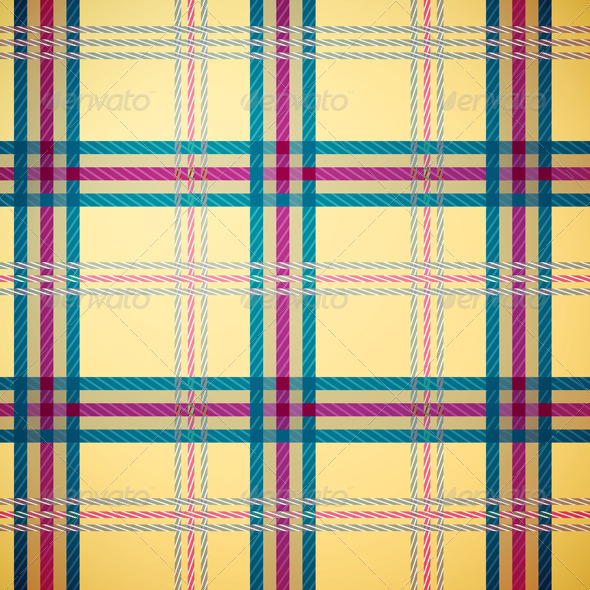 GraphicRiver Tartan Plaid Pattern Background 4990898