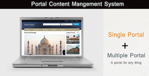 CodeCanyon CMS Portal 4991088