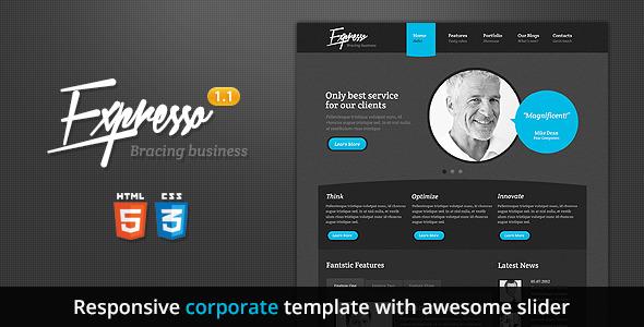 Expresso - Premium Responsive HTML5 Template