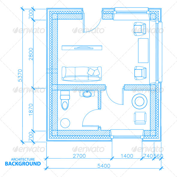 GraphicRiver Architecture Background 4992489