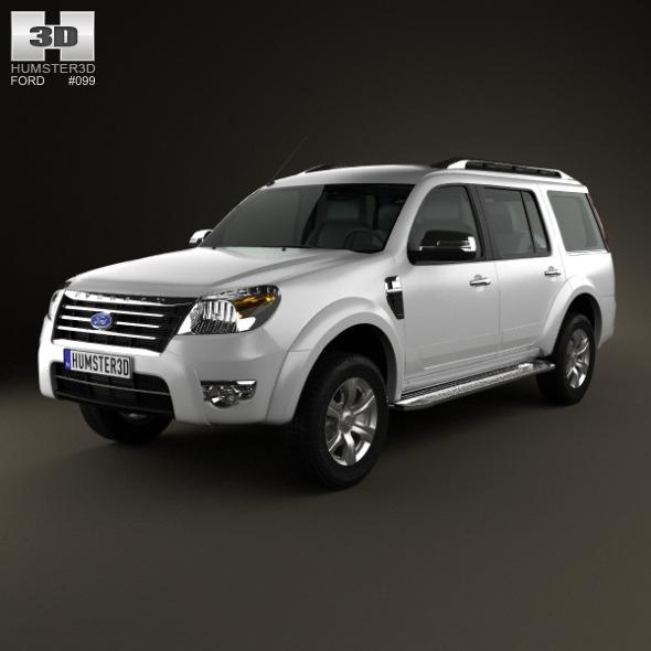 3DOcean Ford Everest 2012 4993863