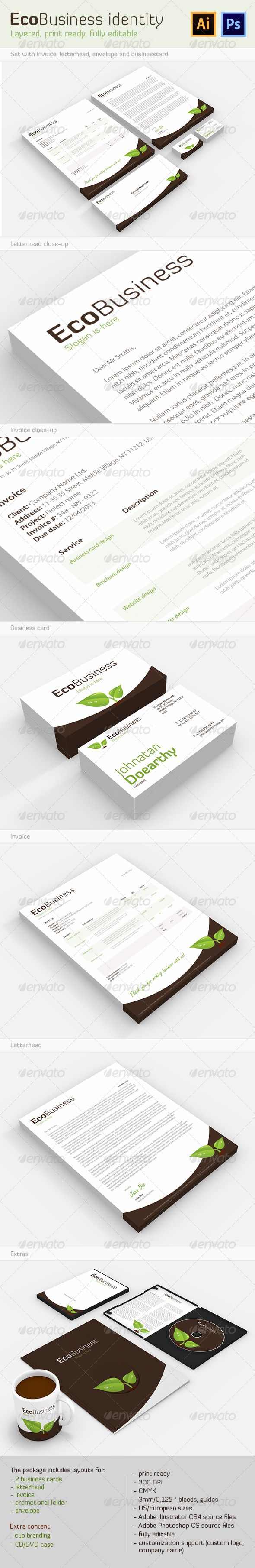 GraphicRiver EcoBusiness Corporate Identity 4931802