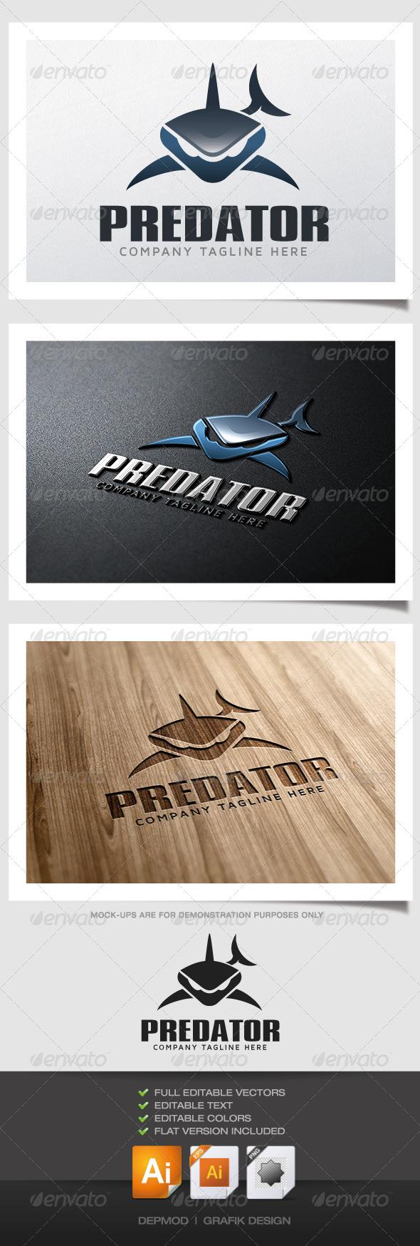 GraphicRiver Predator Logo 4993975