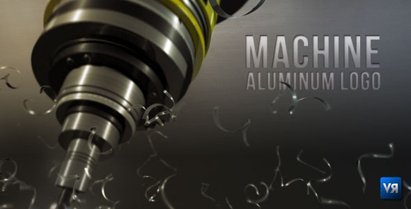 After Effects Project - VideoHive Machine aluminum logo 515094