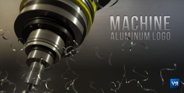 Machine aluminum logo 515094  - shareDAE
