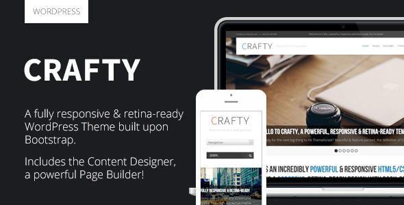 Crafty - Responsive Retina-ready WordPress Theme