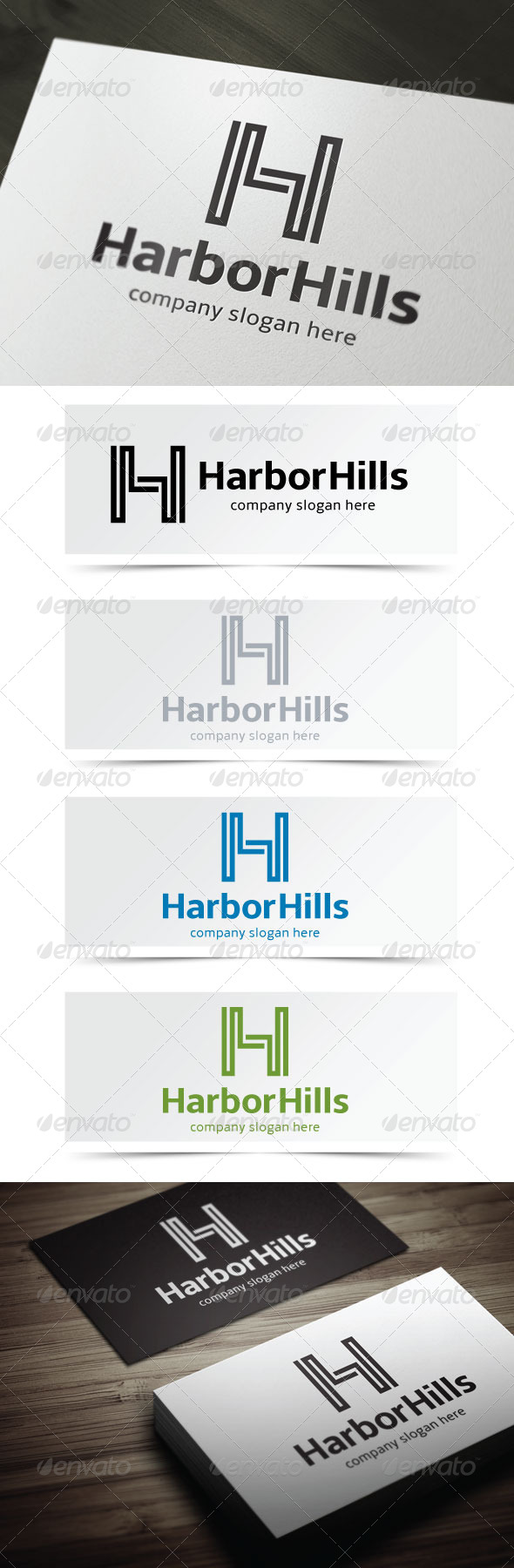GraphicRiver Harbor Hills 4995279