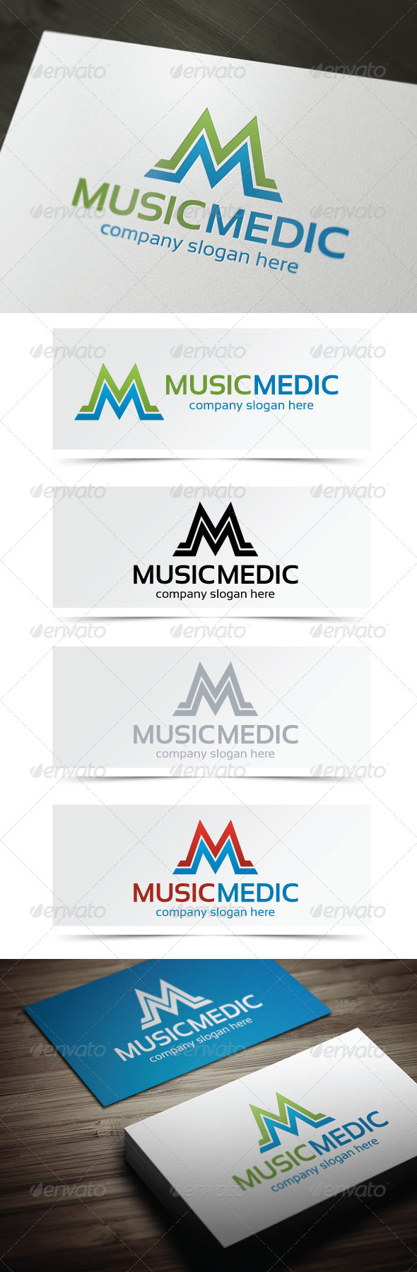 GraphicRiver Music Medic 4995293