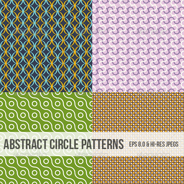 GraphicRiver Abstract Circle Patterns 4995552