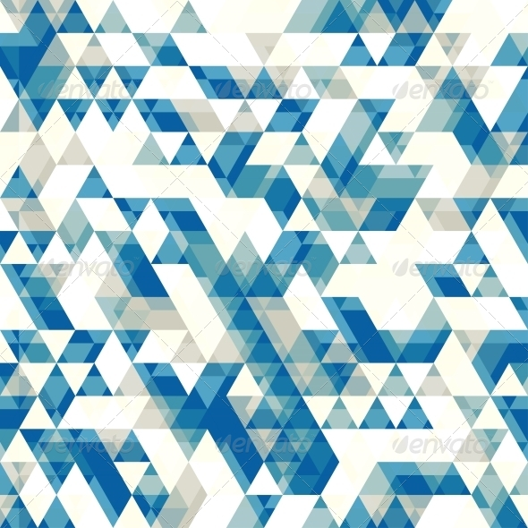 GraphicRiver Retro Abstract Pattern with Triangles 4995967