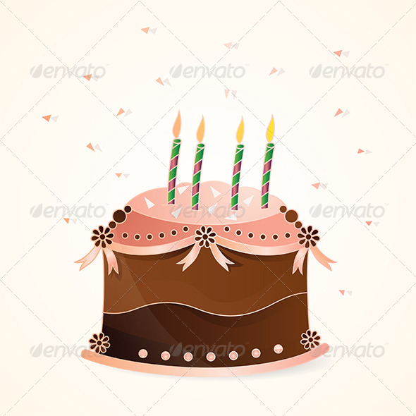 GraphicRiver Birthday Cake 4996693