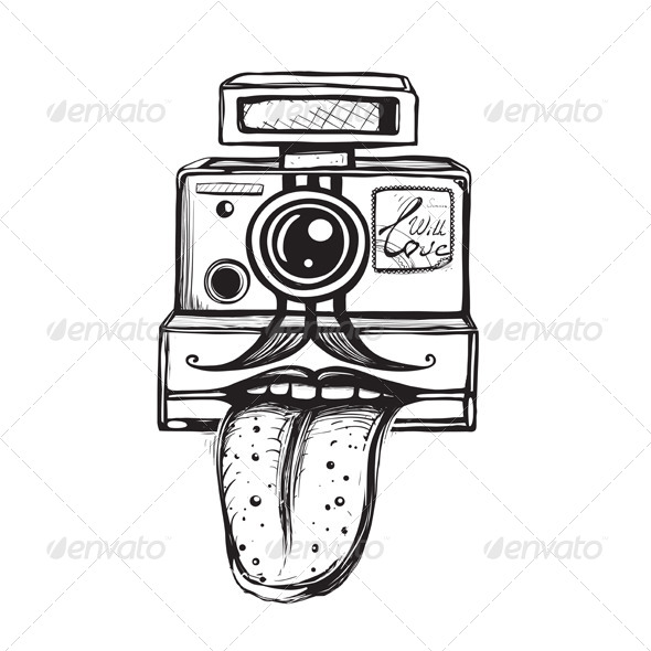 GraphicRiver Camera and Photography Smiling Concept 4996704