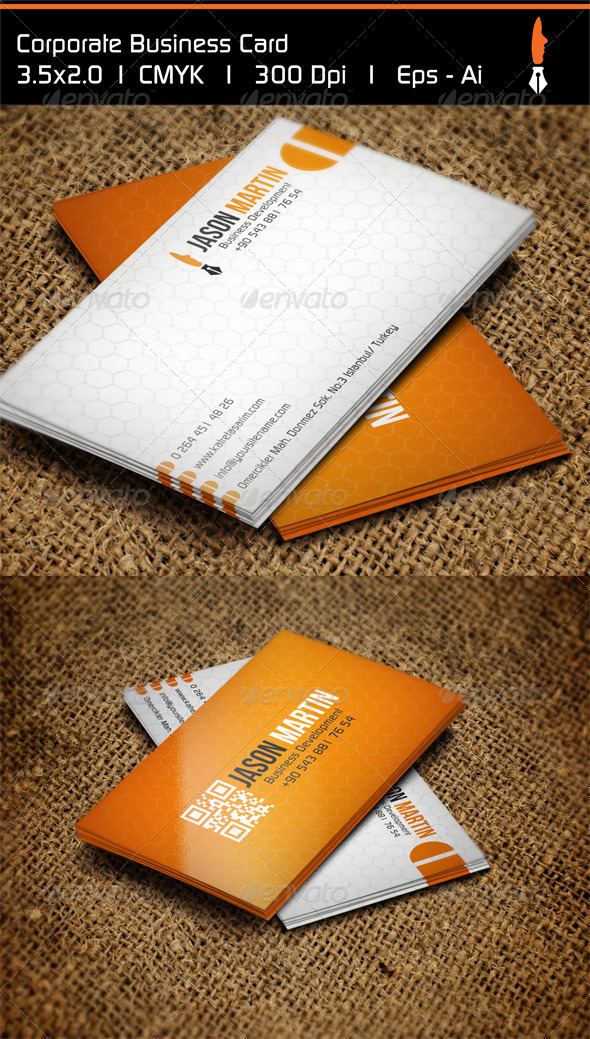 GraphicRiver Corporate Business Card 4940948