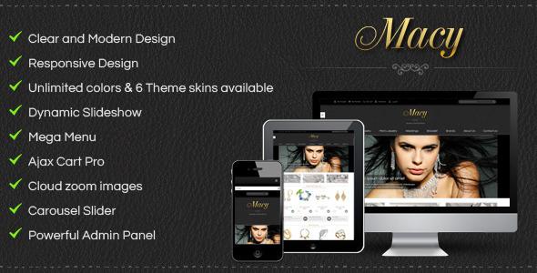 ThemeForest SM Macy Responsive Magento Theme 4998227