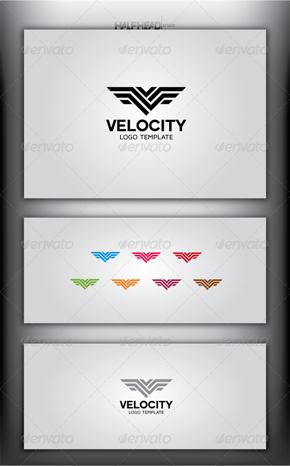GraphicRiver VELOCITY Logo Template 4998535