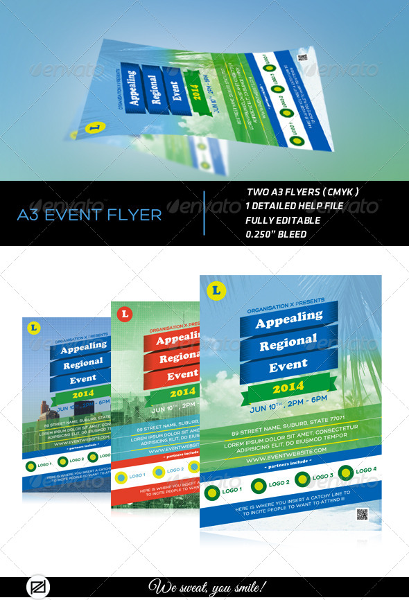 GraphicRiver A3 Event Flyer 4866583