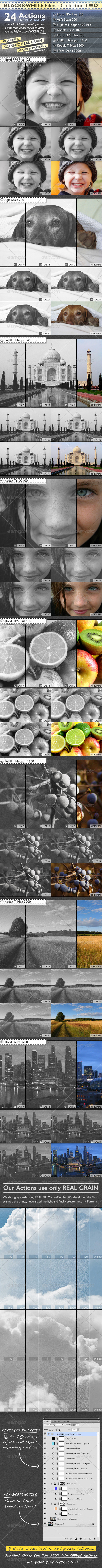 GraphicRiver BLACK & WHITE Films Collection TWO 4998718