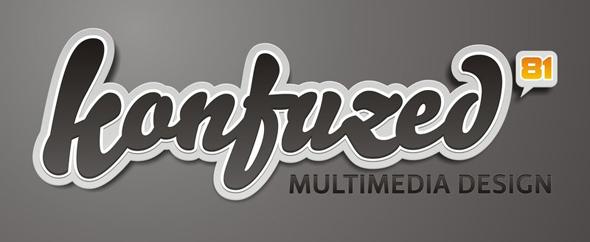 Konfuzed logo concept