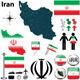Download Vector Map of Iran